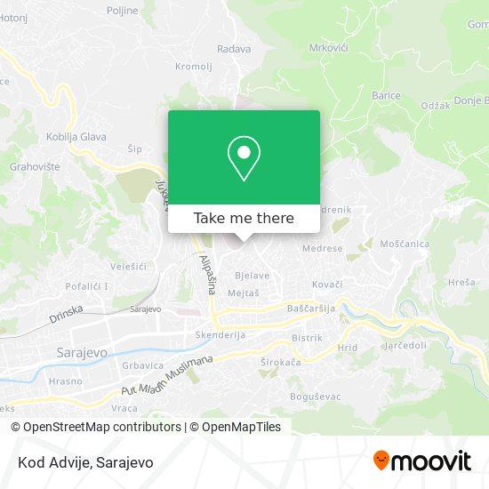 Kod Advije map