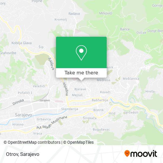 Otrov map