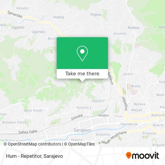 Hum - Repetitor map