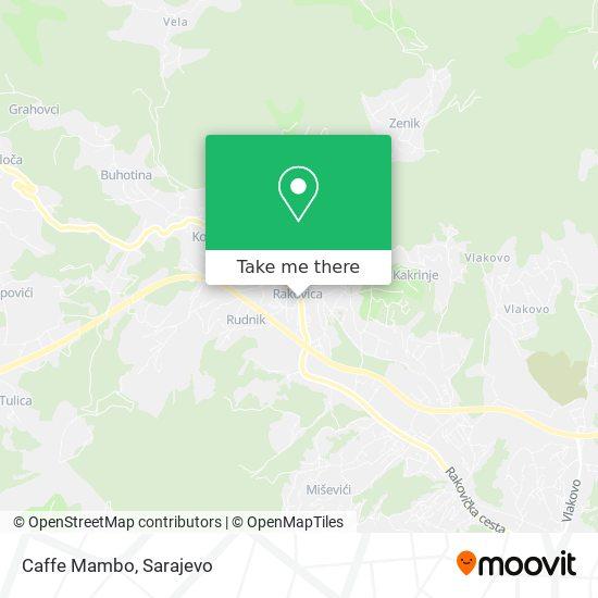 Caffe Mambo map