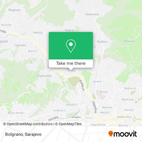 Bolgrano map