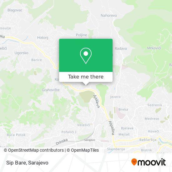 Sip Bare map