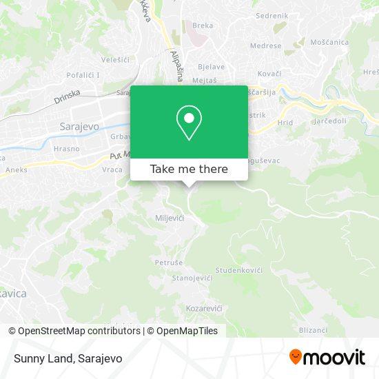 Sunny Land map