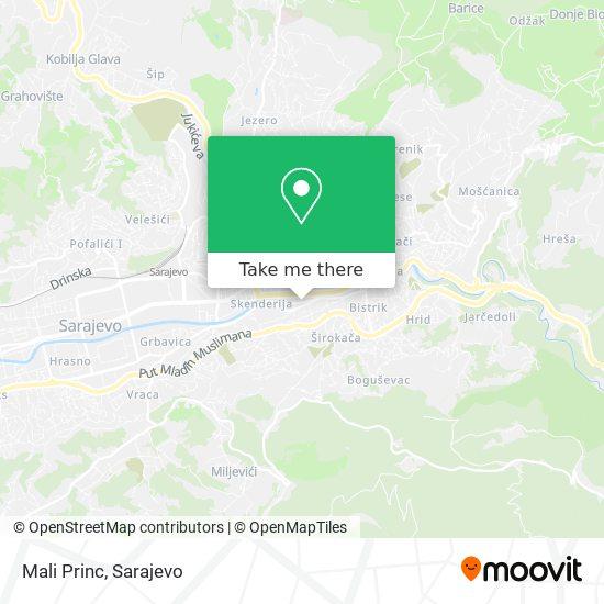 Mali Princ map