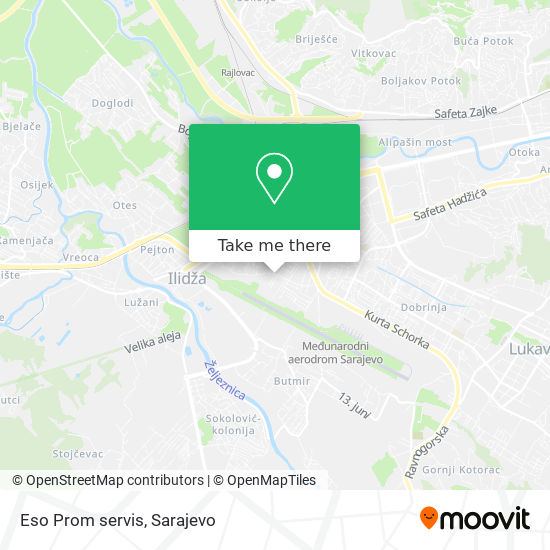 Eso Prom servis map