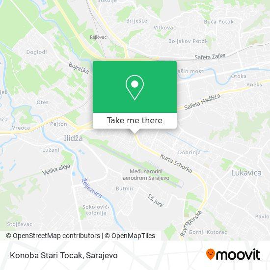 Konoba Stari Tocak map