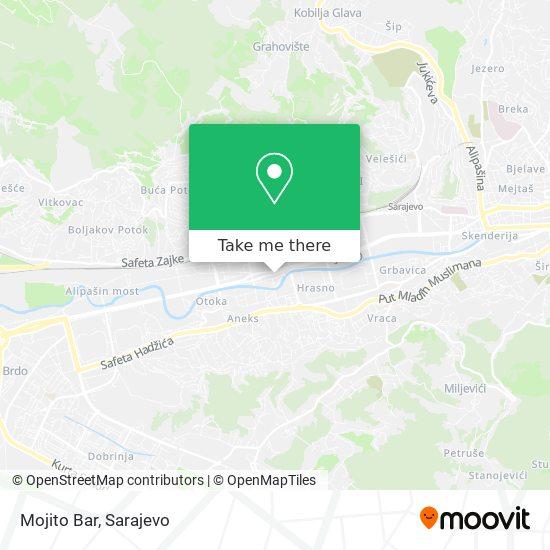 Mojito Bar map