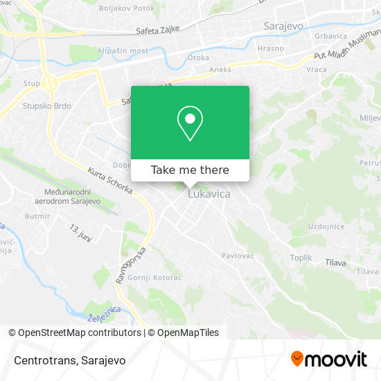 Centrotrans map