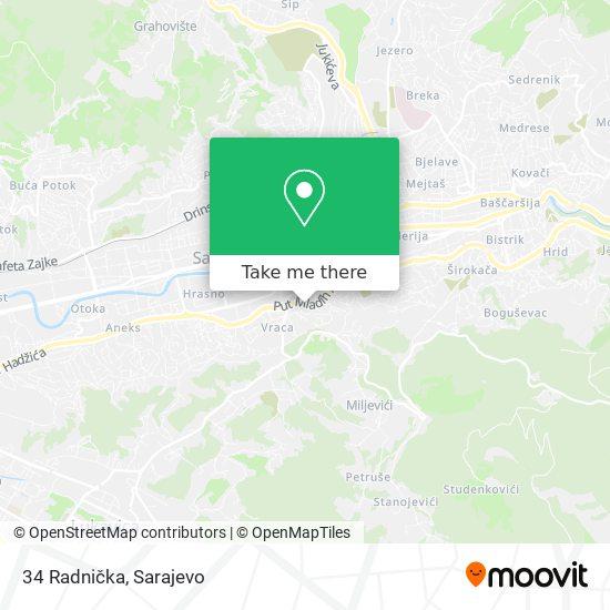 34 Radnička map