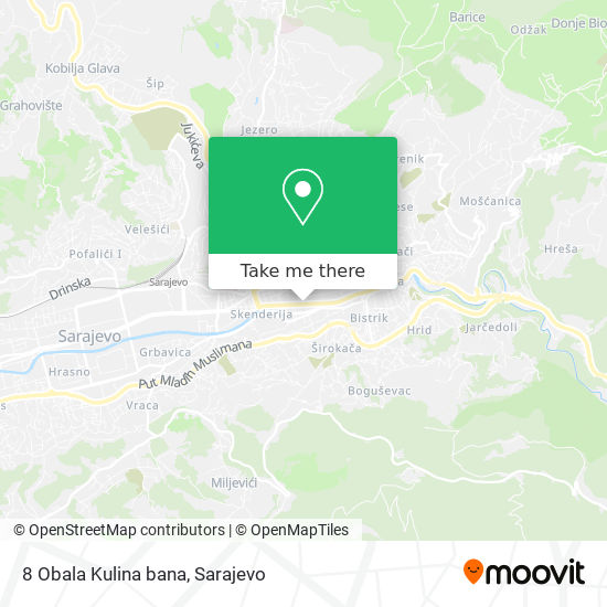 8 Obala Kulina bana map