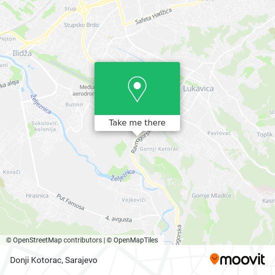 Donji Kotorac map