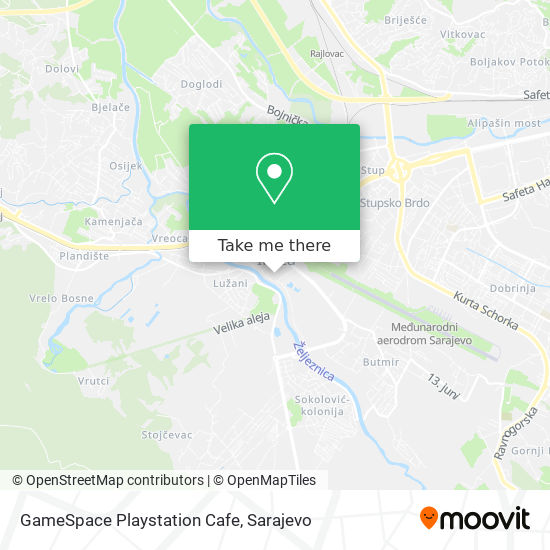 GameSpace Playstation Cafe map