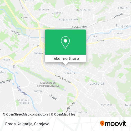 Grada Kalgarija map