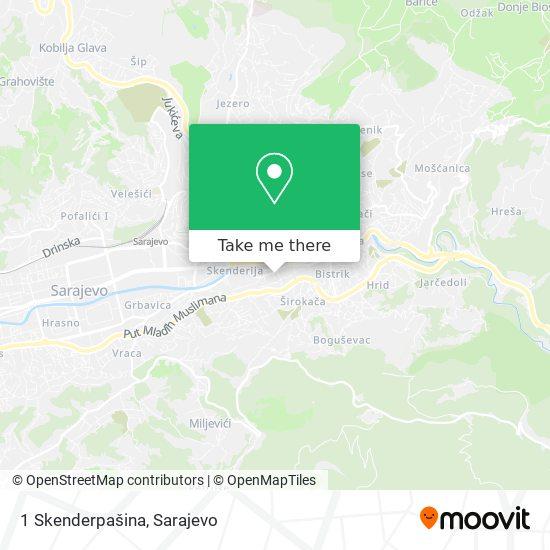 1 Skenderpašina map