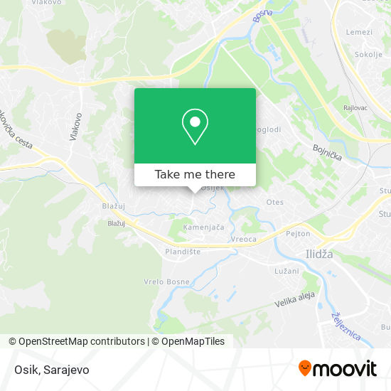 Osik map