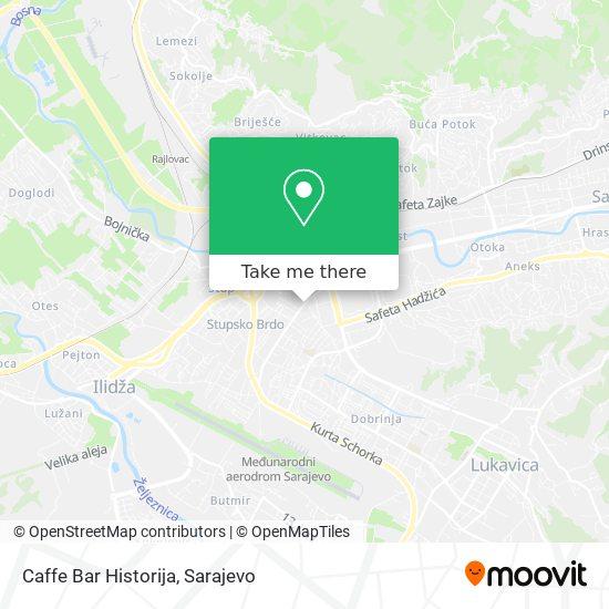 Caffe Bar Historija map