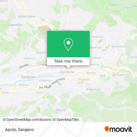 Apolo map