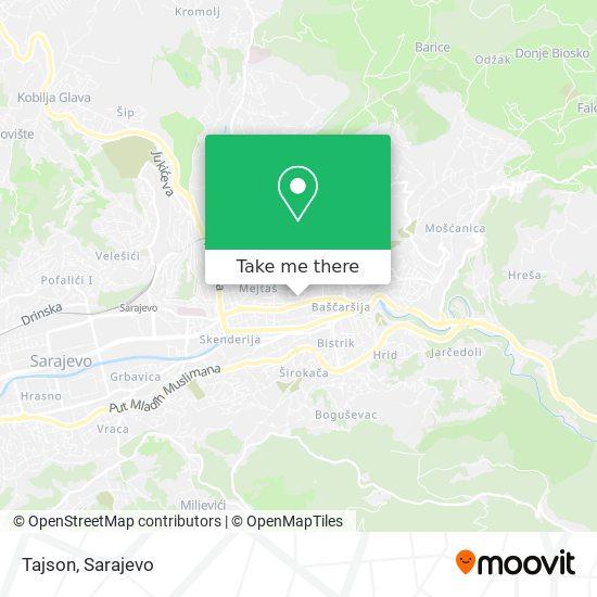 Tajson map