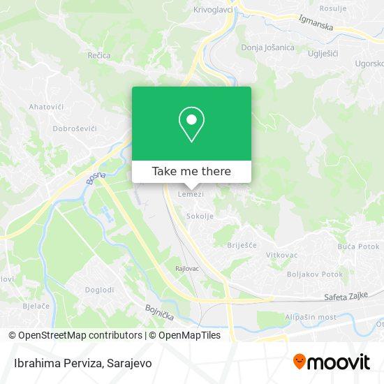 Ibrahima Perviza map