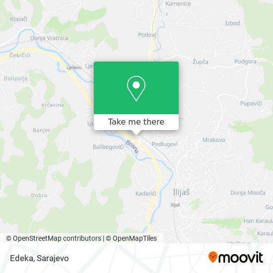 Edeka map