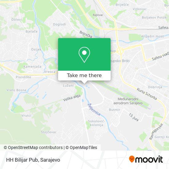 HH Bilijar Pub map