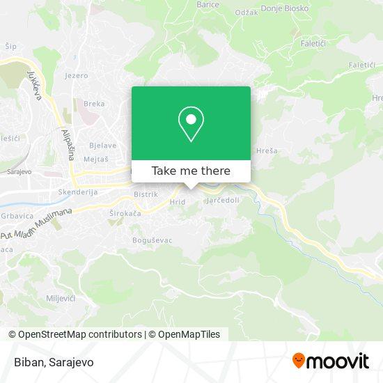 Biban map
