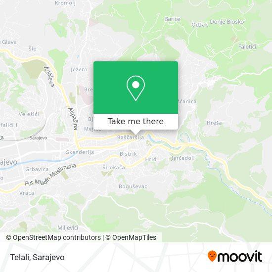 Telali map