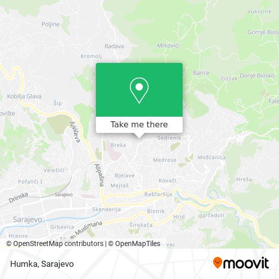Humka map