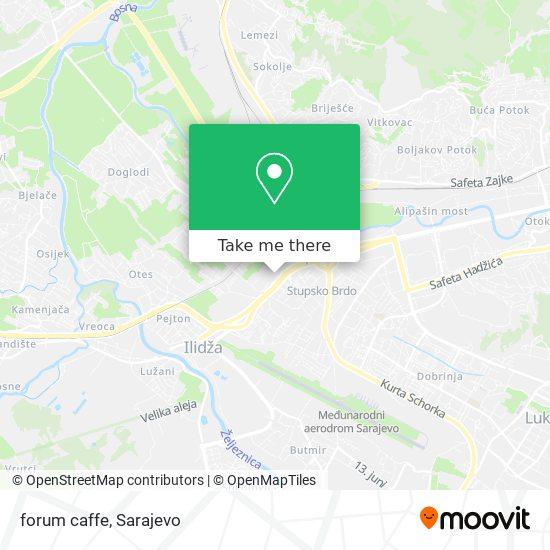forum caffe map