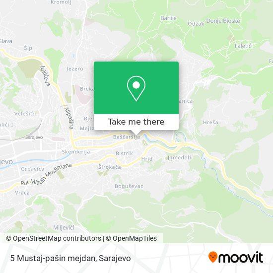 5 Mustaj-pašin mejdan map