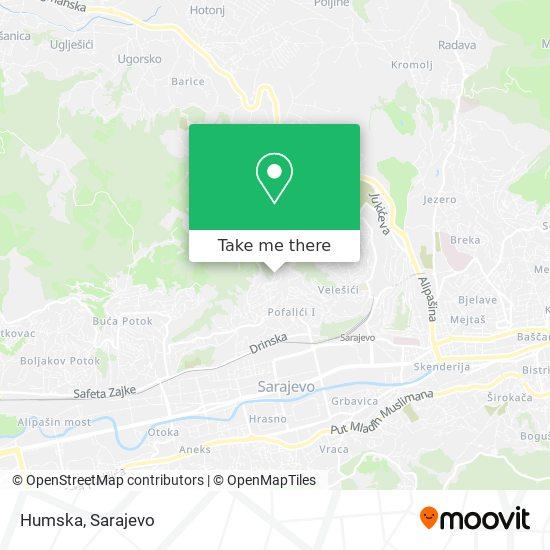 Humska map