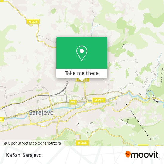 Ka5an map