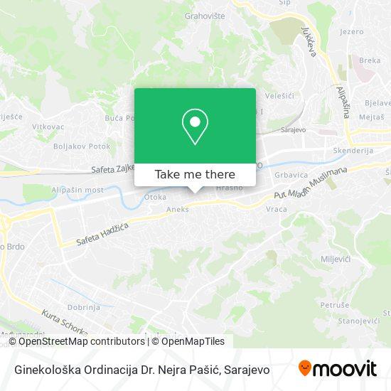 Ginekološka Ordinacija Dr. Nejra Pašić map