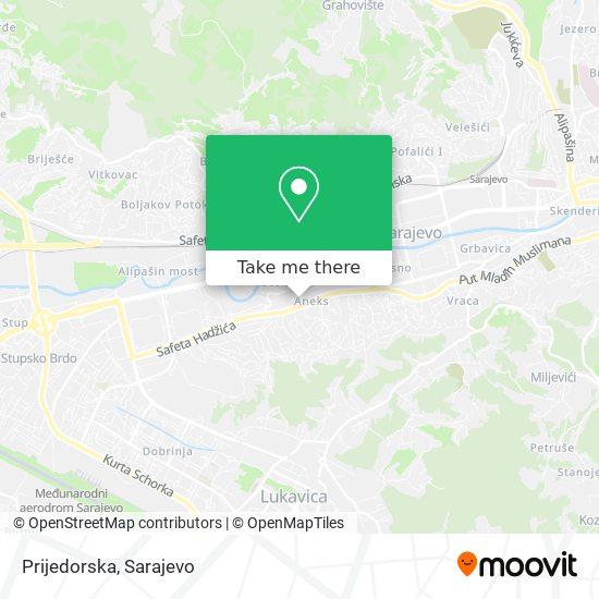 Prijedorska map
