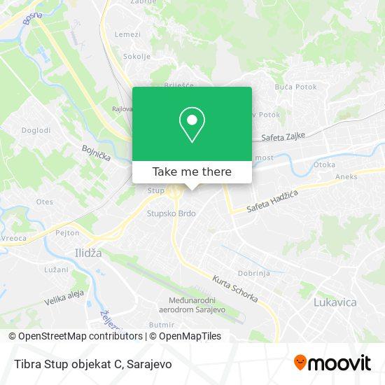 Tibra Stup objekat C map