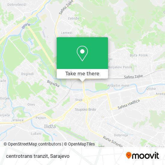 centrotrans tranzit map