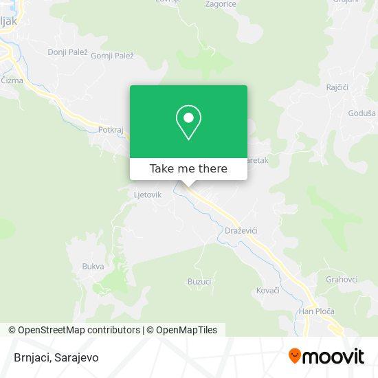 Brnjaci map