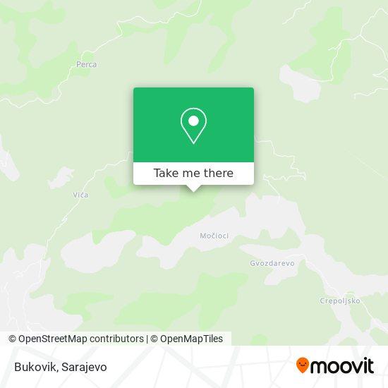 Bukovik map