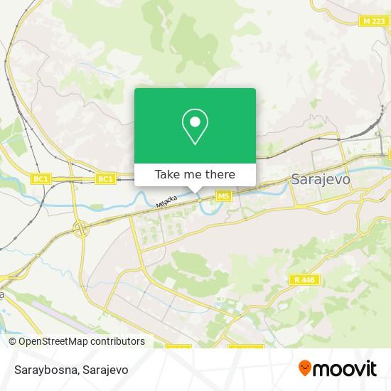 Saraybosna map