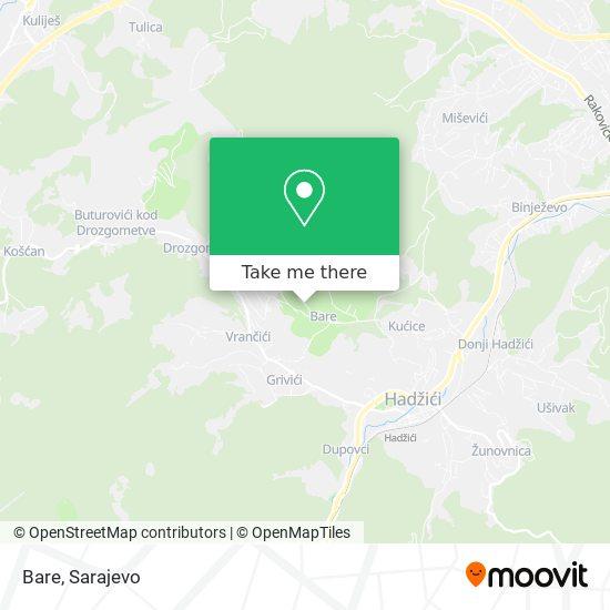 Bare map