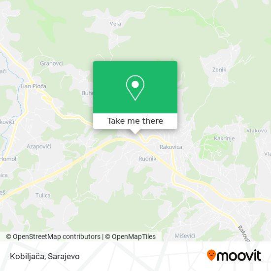 Kobiljača map