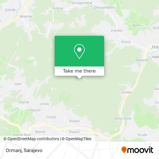 Ormanj map