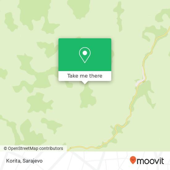 Korita map