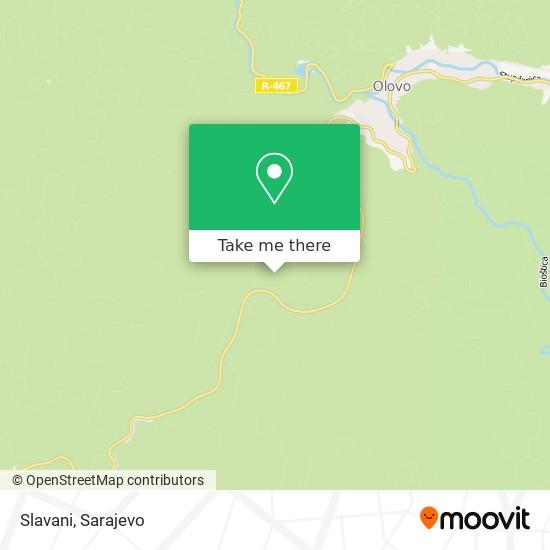 Slavani map