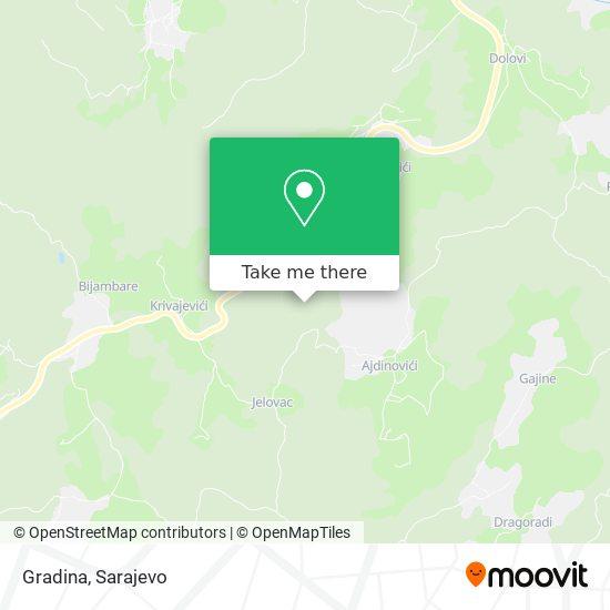 Gradina map