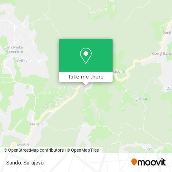 Sando map