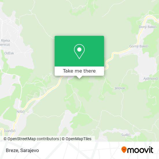 Breze map