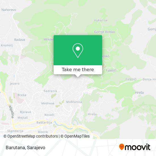 Barutana map