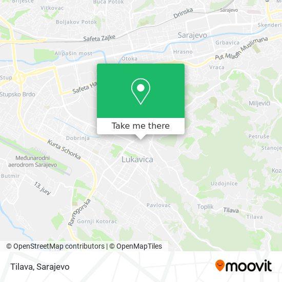Tilava map
