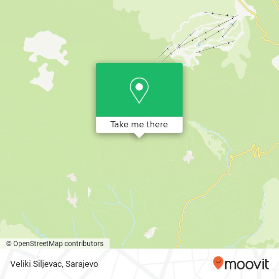 Veliki Siljevac map
